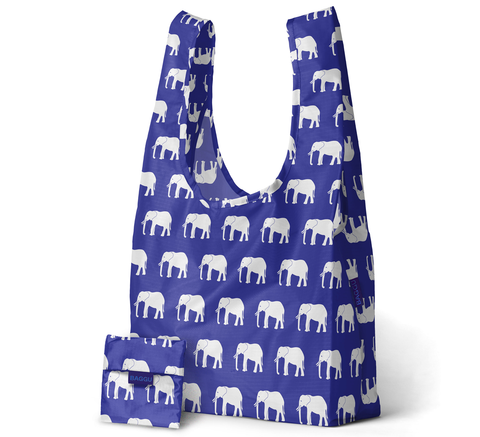 New for winter is the white and blue elephant print by Baggu. A perfect ... click for more information
