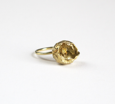 Created by Benedicte and exclusive to Found in the UK, the Flower ring i... click for more information