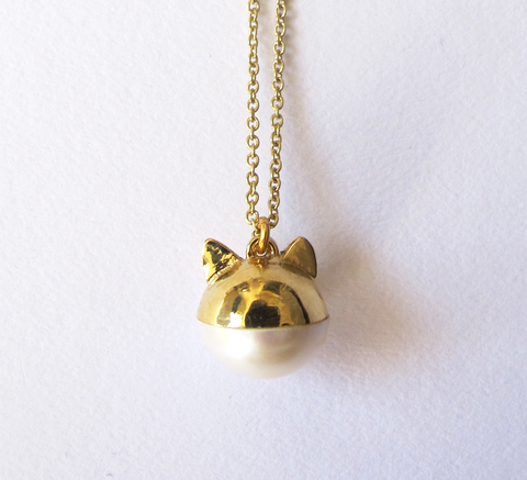 A new design from Benedicte is the Le Chat pendant! The charm necklace f... click for more information