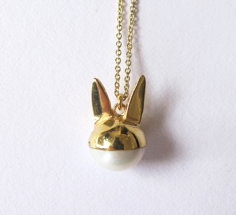 A new design from Benedicte is the Le Lapin pendant! The charm necklace ... click for more information