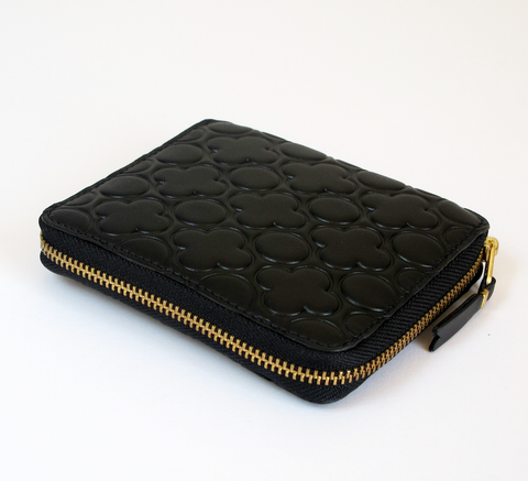 The SA210 Wallet in embossed black leather is a unisex design that holds... click for more information