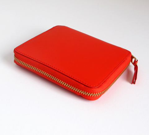 The Wallet in orange is a classic design, with a 3-sided zip it opens fu... click for more information