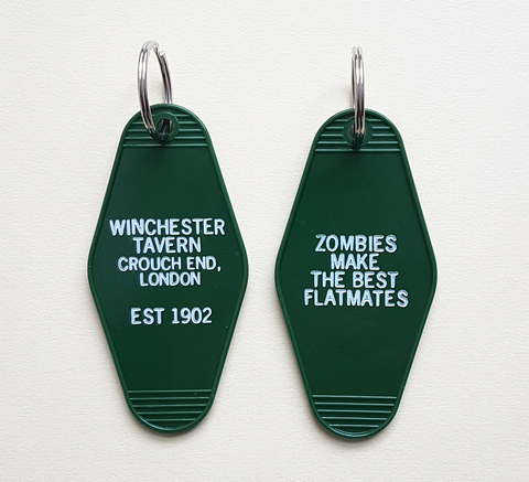 Do you miss Shaun of the Dead? Rest easy with this new key ring! Made in... click for more information