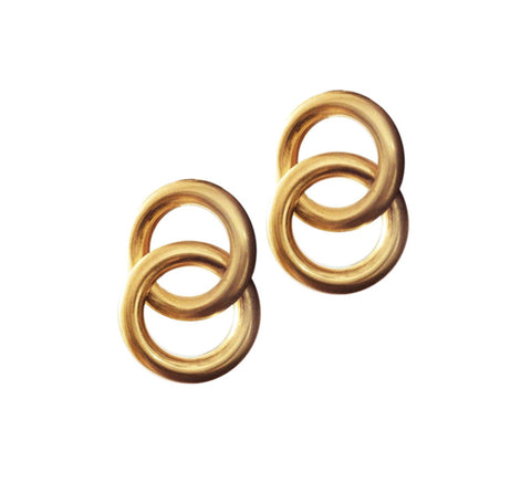 The Interlock Earrings are an oversize take on the link earrings.  Size:...                        click for more information
