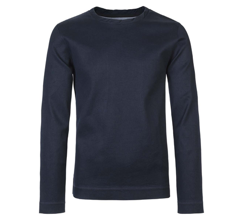 An oversize shape made a deep indigo-dyed cotton the Youth sweatshirt is... click for more information