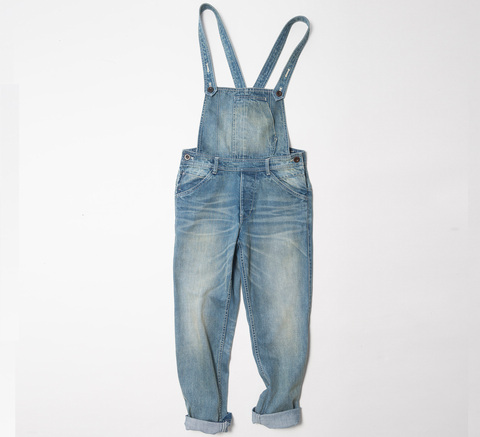 Made by Scrub's denim dungarees pick up on the best features of workwear... click for more information