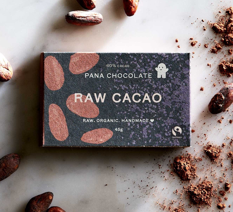 60% raw cacao. The OG.     Raw Organic Ingredients: cacao solids 60% min... click for more information