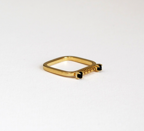 Sabrina Dehoff's Chain Sparkle Ring is part of the new Universe Within M... click for more information