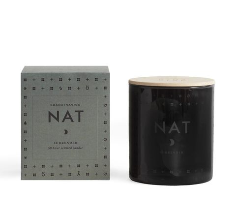 Nat means 'night' in Danish and Norwegian, and the candle's scent evokes... click for more information