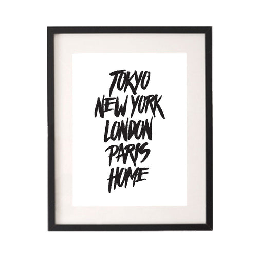 Tokyo New York London Paris Home Printable or Downloadable Wall Art Print-onesie-baby-Little Misfits-tattoo-sleeves-trendy-baby-clothes-for-boys-girls-toddler