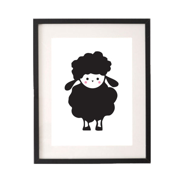 Baby Black Sheep Printable or Downloadable Wall Art Print-onesie-baby-Little Misfits-tattoo-sleeves-trendy-baby-clothes-for-boys-girls-toddler