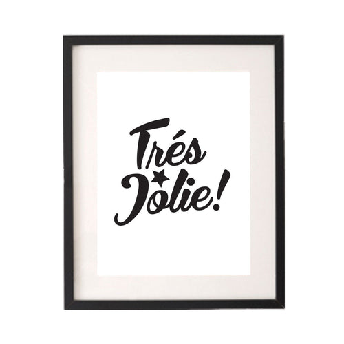 Tres Jolie Printable or Downloadable Wall Art Print-onesie-baby-Little Misfits-tattoo-sleeves-trendy-baby-clothes-for-boys-girls-toddler