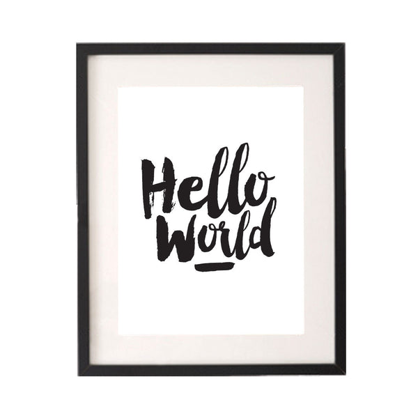 Hello World Printable or Downloadable Wall Art Print-onesie-baby-Little Misfits-tattoo-sleeves-trendy-baby-clothes-for-boys-girls-toddler