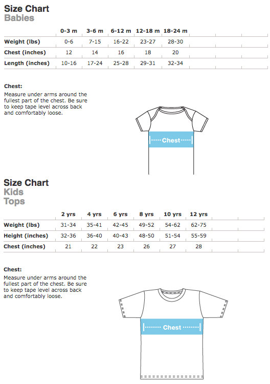 american apparel meet the models template - youth shirts little misfits