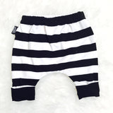 Black and White Stripe Baby or Kids Shorts-onesie-baby-Little Misfits-tattoo-sleeves-trendy-baby-clothes-for-boys-girls-toddler