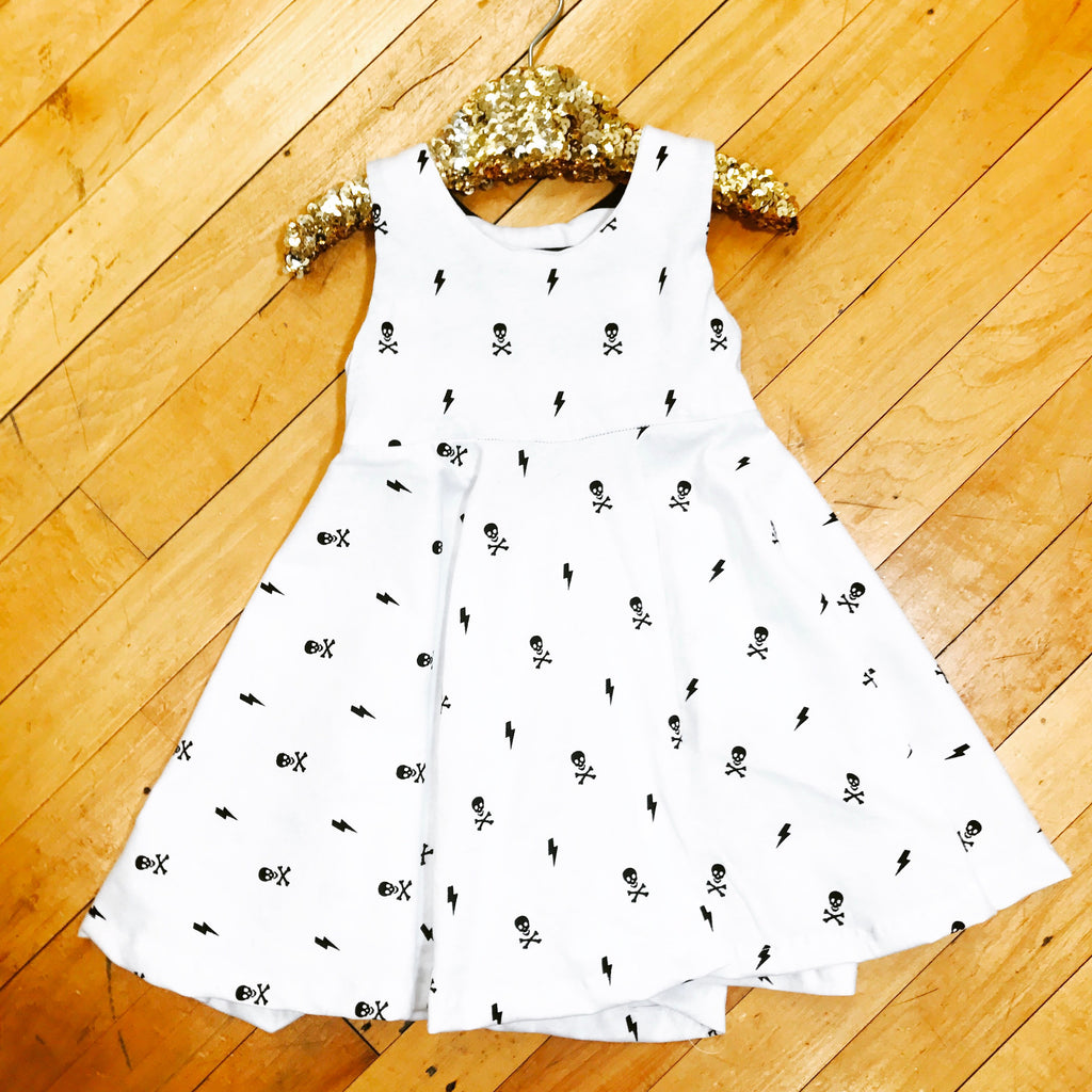 Little Rebel Dress-onesie-baby-Little Misfits-tattoo-sleeves-trendy-baby-clothes-for-boys-girls-toddler