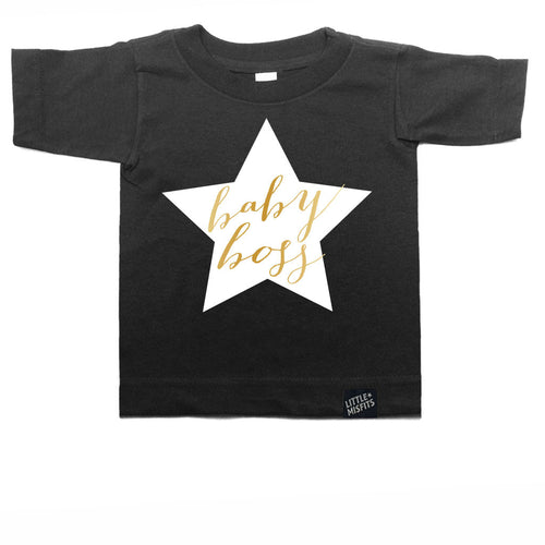 Baby Boss Toddler Tee-onesie-baby-Little Misfits-tattoo-sleeves-trendy-baby-clothes-for-boys-girls-toddler