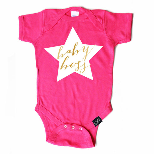 Baby Boss Onesie-onesie-baby-Little Misfits-tattoo-sleeves-trendy-baby-clothes-for-boys-girls-toddler