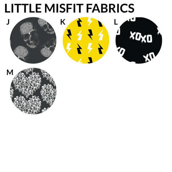 Mini Misfit Baby Blankets - Made to Order-onesie-baby-Little Misfits-tattoo-sleeves-trendy-baby-clothes-for-boys-girls-toddler