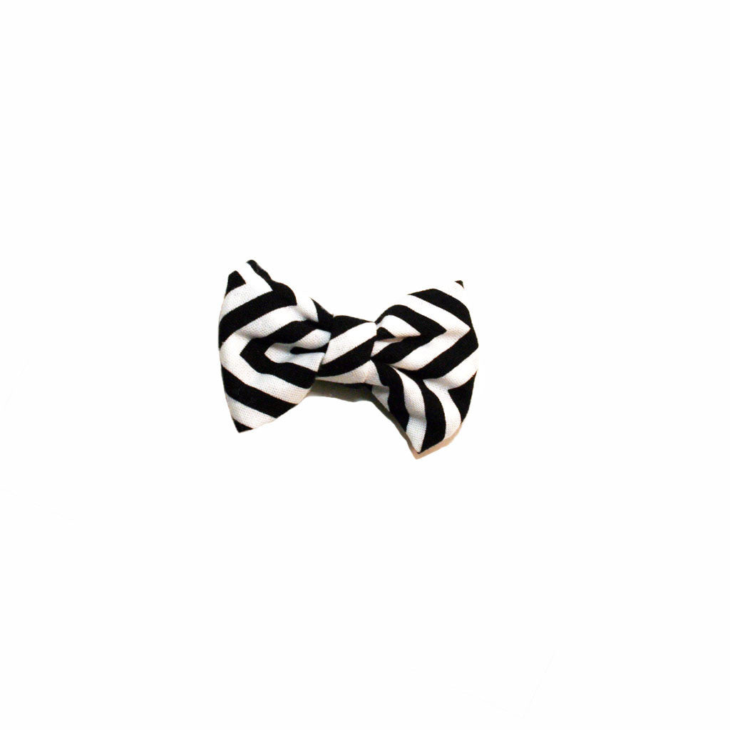 Black & White Chevron - Prettylicious Hair Bows-onesie-baby-Little Misfits-tattoo-sleeves-trendy-baby-clothes-for-boys-girls-toddler