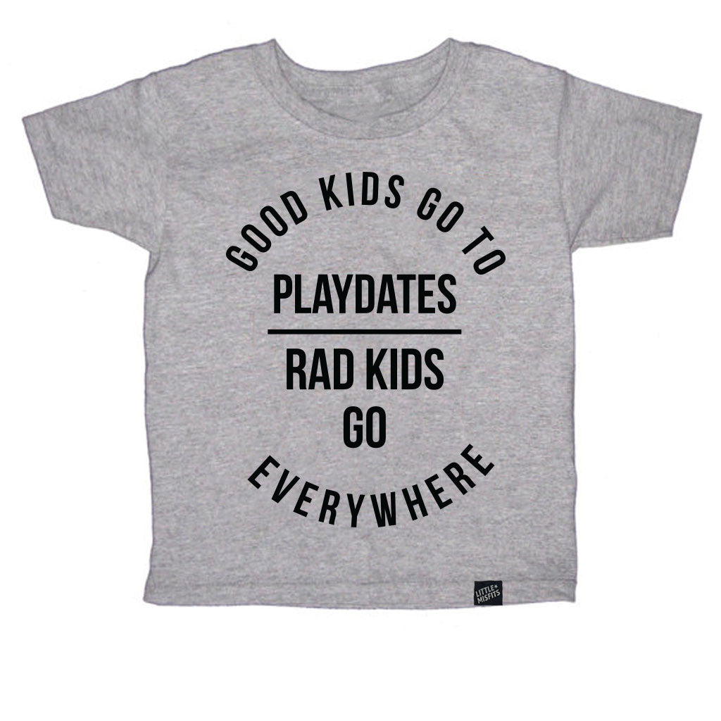 Good Kids Go On Playdates-onesie-baby-Little Misfits-tattoo-sleeves-trendy-baby-clothes-for-boys-girls-toddler