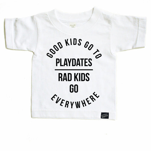 Good Kids Go To Playdates-onesie-baby-Little Misfits-tattoo-sleeves-trendy-baby-clothes-for-boys-girls-toddler