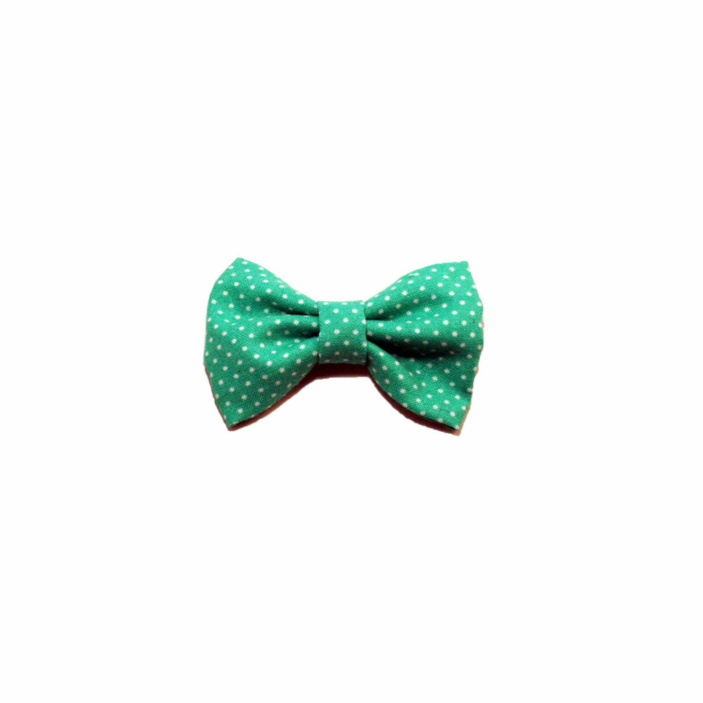 Green Dots - Prettylicious Hair Bows-onesie-baby-Little Misfits-tattoo-sleeves-trendy-baby-clothes-for-boys-girls-toddler