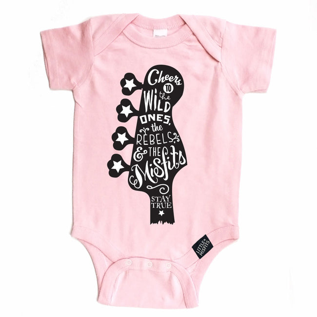 Guitar Love-onesie-baby-Little Misfits-tattoo-sleeves-trendy-baby-clothes-for-boys-girls-toddler