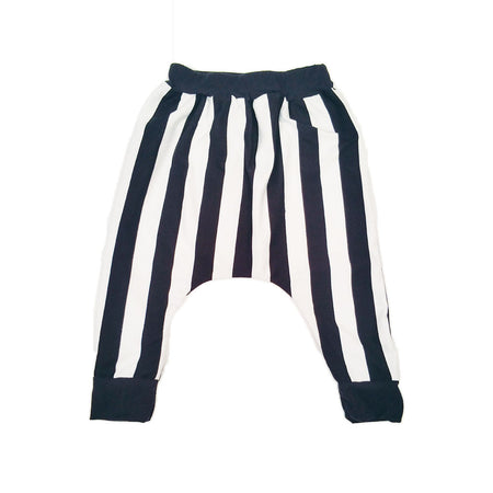 Black and White Stripe Baby or Kids Shorts