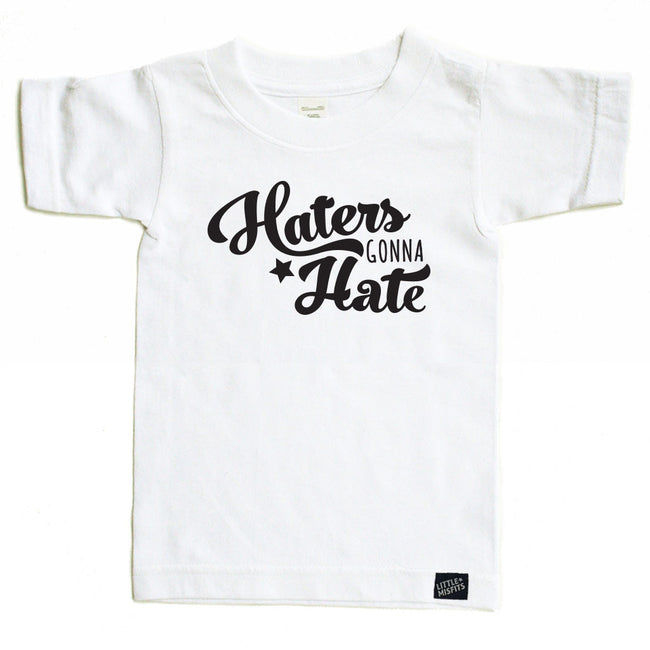 Haters Gonna Hate-onesie-baby-Little Misfits-tattoo-sleeves-trendy-baby-clothes-for-boys-girls-toddler