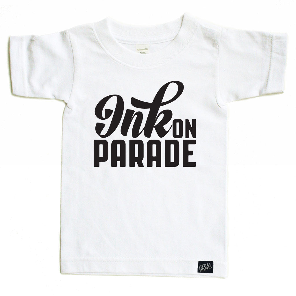 Ink on Parade-onesie-baby-Little Misfits-tattoo-sleeves-trendy-baby-clothes-for-boys-girls-toddler