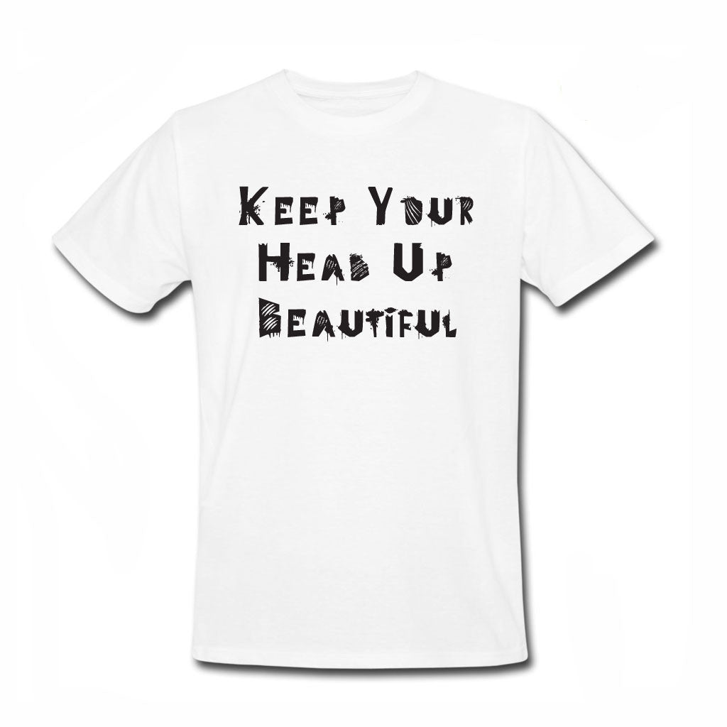 Keep Your Head Up Beautiful - Skate for Cancer (S4C) - Men-onesie-baby-Misfit Culture-tattoo-sleeves-trendy-baby-clothes-for-boys-girls-toddler