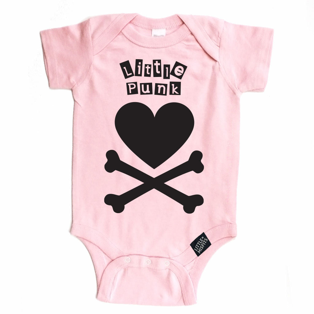 Little Punk Onesie-onesie-baby-Little Misfits-tattoo-sleeves-trendy-baby-clothes-for-boys-girls-toddler