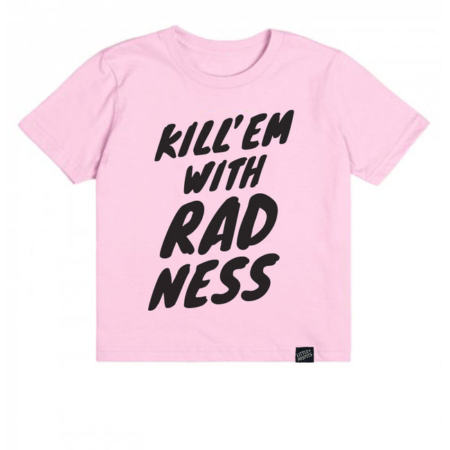 Kill 'Em With Radness-onesie-baby-Little Misfits-tattoo-sleeves-trendy-baby-clothes-for-boys-girls-toddler
