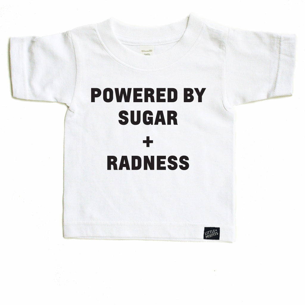 Powered by Sugar & Radness-onesie-baby-Little Misfits-tattoo-sleeves-trendy-baby-clothes-for-boys-girls-toddler