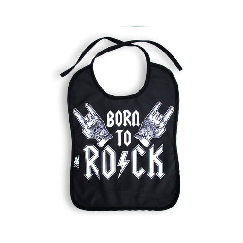 Rock Hands Bib-onesie-baby-Six Bunnies-tattoo-sleeves-trendy-baby-clothes-for-boys-girls-toddler