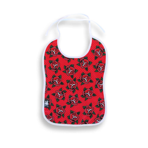 Red Roses Bib-onesie-baby-Six Bunnies-tattoo-sleeves-trendy-baby-clothes-for-boys-girls-toddler