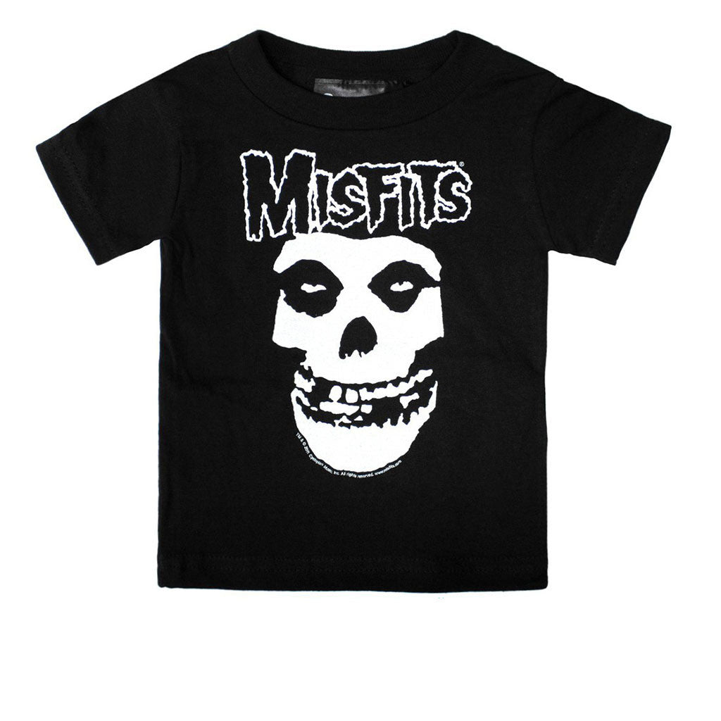 A Misfits Fiend Toddler Tee-onesie-baby-Sourpuss-tattoo-sleeves-trendy-baby-clothes-for-boys-girls-toddler