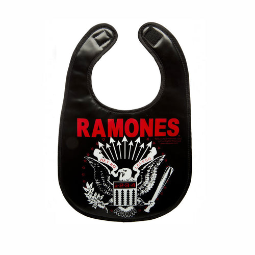 Ramones Vinyl Bib-onesie-baby-Sourpuss-tattoo-sleeves-trendy-baby-clothes-for-boys-girls-toddler