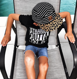 Beau Hudson Black and White Stripe Hat / Kids Baseball Cap-onesie-baby-Beau Hudson-tattoo-sleeves-trendy-baby-clothes-for-boys-girls-toddler