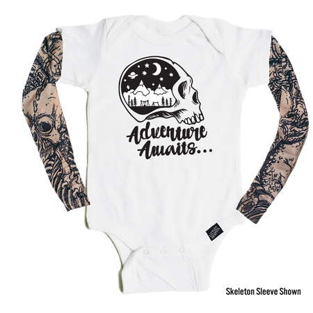 Kissy Lips - Tattoo Sleeve Onesie