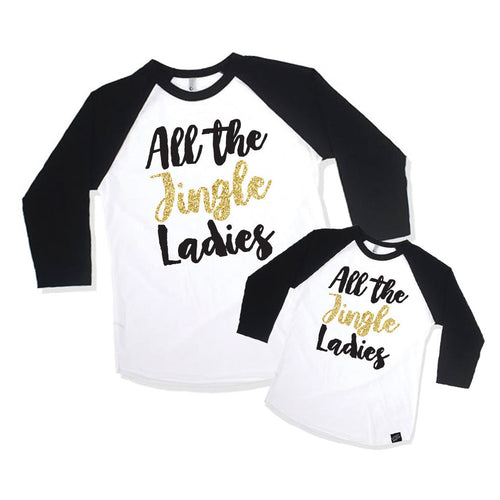 Jingle Ladies Mommy-and-Me Set-onesie-baby-Little Misfits Black Friday Only-tattoo-sleeves-trendy-baby-clothes-for-boys-girls-toddler