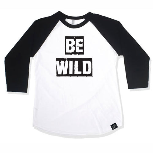 Be Wild Baby or Kids Raglan-onesie-baby-Little Misfits-tattoo-sleeves-trendy-baby-clothes-for-boys-girls-toddler