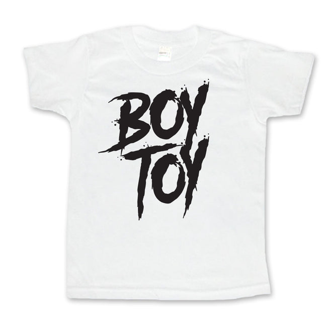 Boy Toy - Toddler or Kids Shirt-onesie-baby-Little Misfits-tattoo-sleeves-trendy-baby-clothes-for-boys-girls-toddler