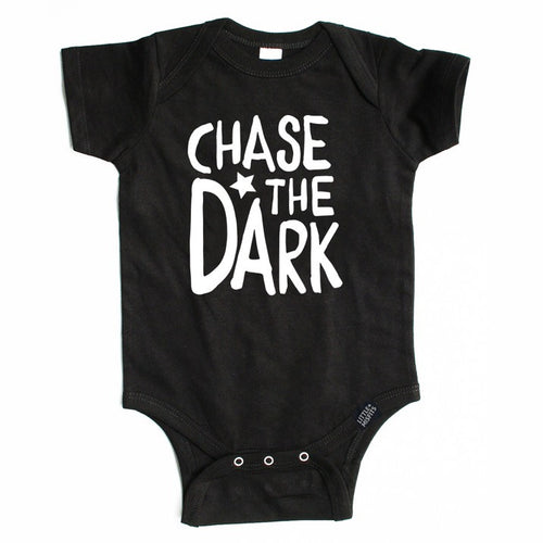 Chase the Dark - Dear Jack Foundation (DJF)-onesie-baby-Little Misfits-tattoo-sleeves-trendy-baby-clothes-for-boys-girls-toddler