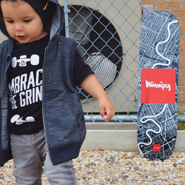 Embrace the Grind-onesie-baby-Little Misfits-tattoo-sleeves-trendy-baby-clothes-for-boys-girls-toddler