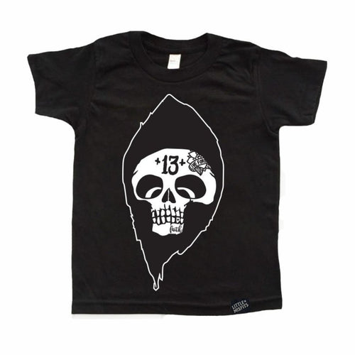 Reaper Kids Halloween T-Shirt-onesie-baby-Little Misfits-tattoo-sleeves-trendy-baby-clothes-for-boys-girls-toddler