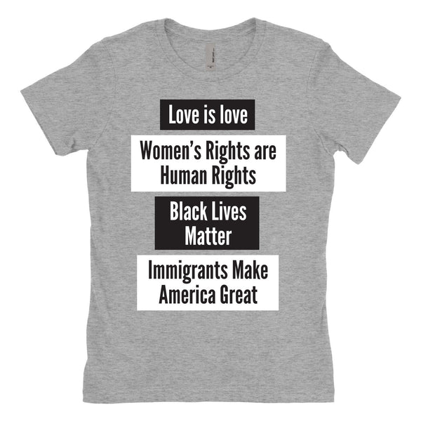 Immigrants Make America Great T Shirt, Love is Love Shirt, Black Lives Matter Shirt, Women's Rights Shirt, Women's Rights Shirt-onesie-baby-Misfit Culture-tattoo-sleeves-trendy-baby-clothes-for-boys-girls-toddler