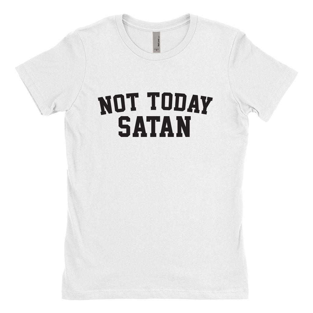 Not Today Satan T-Shirt-onesie-baby-Misfit Culture-tattoo-sleeves-trendy-baby-clothes-for-boys-girls-toddler