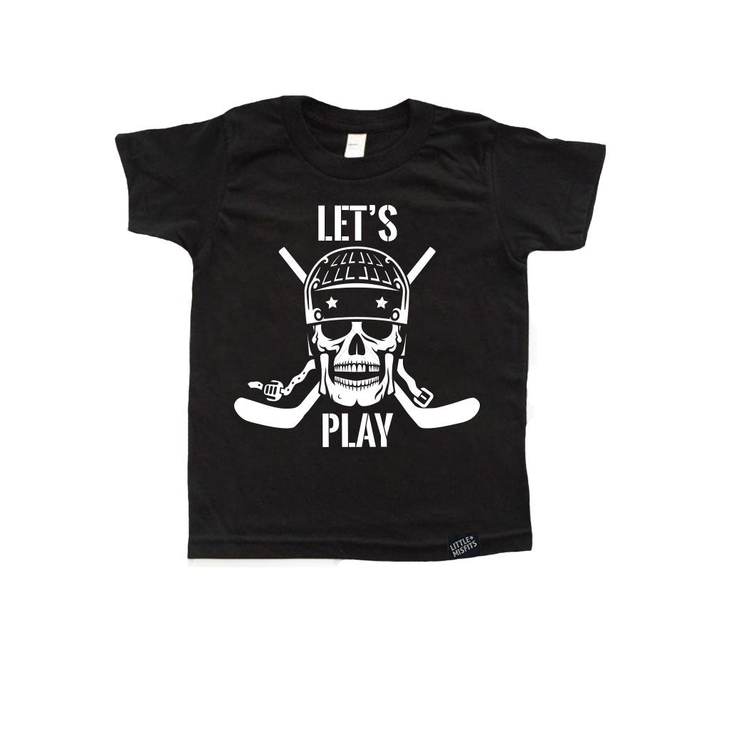 b320ac267 Let's Play Toddler or Kids Hockey Shirt – Little Misfits